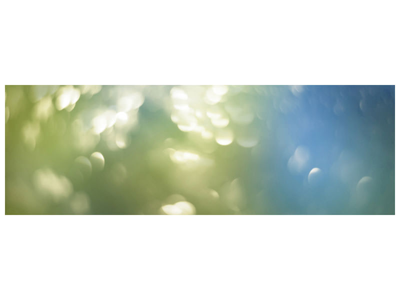 Panoramic Canvas Print Abstract points of light