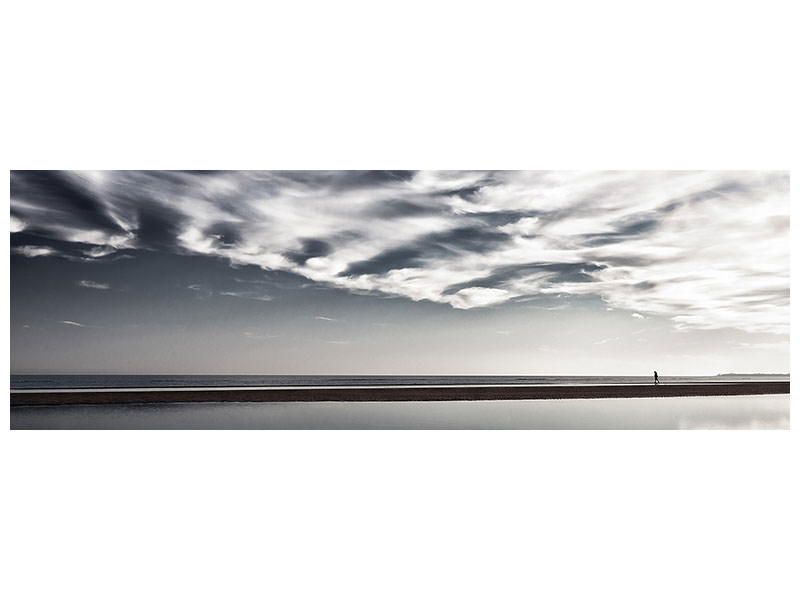 Panoramic Canvas Print Solitaire