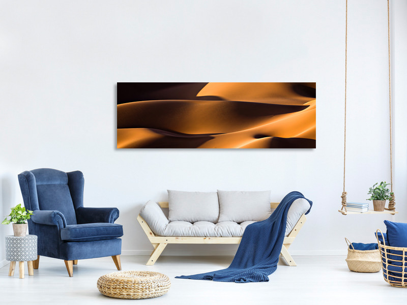 Panoramic Canvas Print Light And Shadow