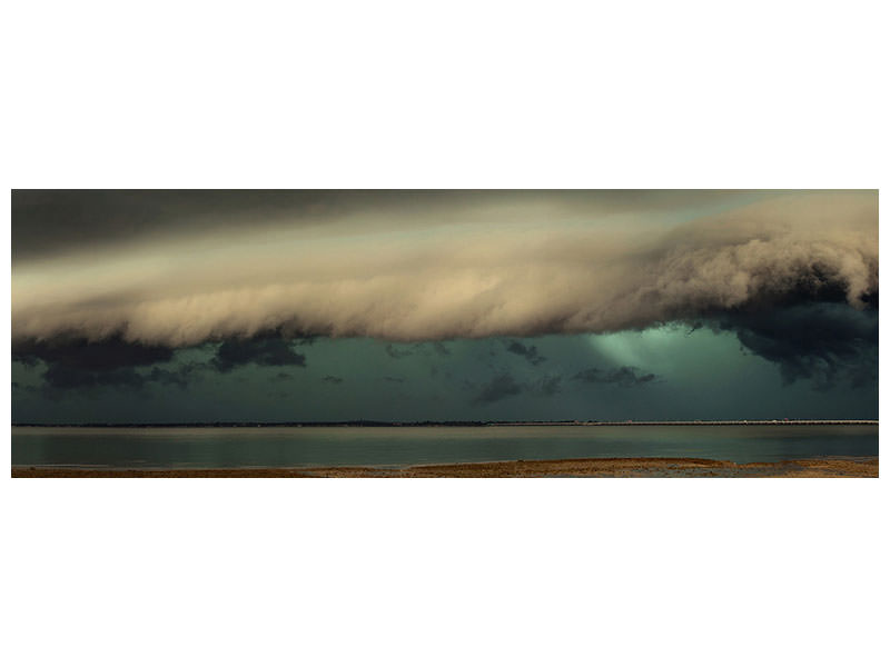 Panoramic Canvas Print Mother Natures Revenge