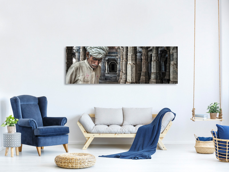 Panoramic Canvas Print A Place For Meditation