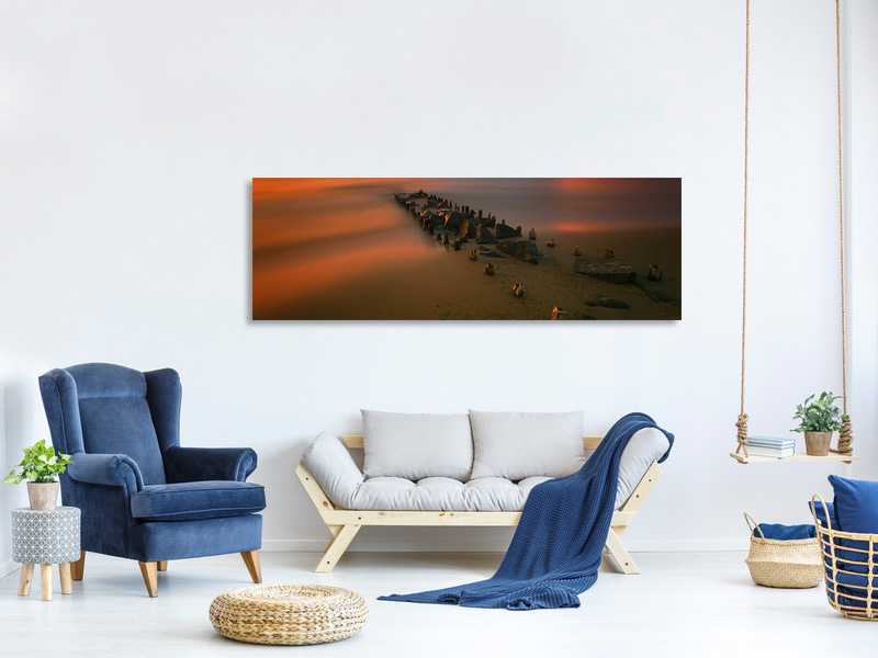 Panoramic Canvas Print Baltic