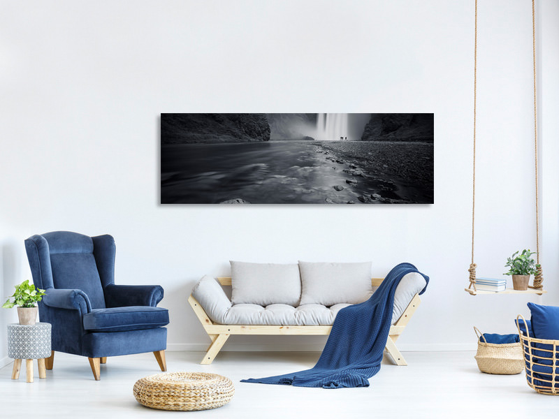 Panoramic Canvas Print Behind The Curtain
