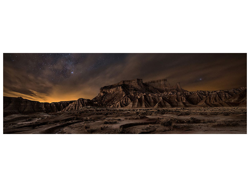 Panoramic Canvas Print Night Wind