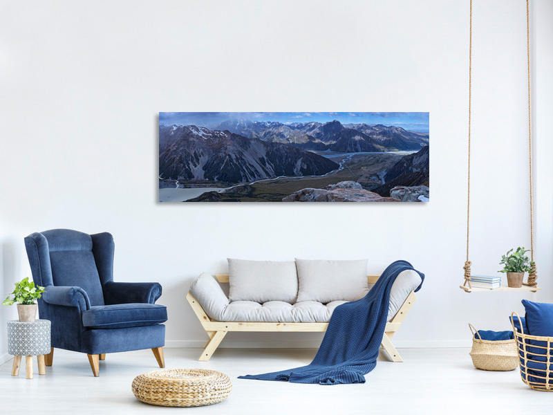 Panoramic Canvas Print Beyond The Plains