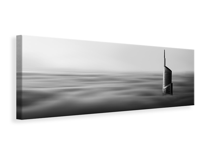 Panoramic Canvas Print The Rising