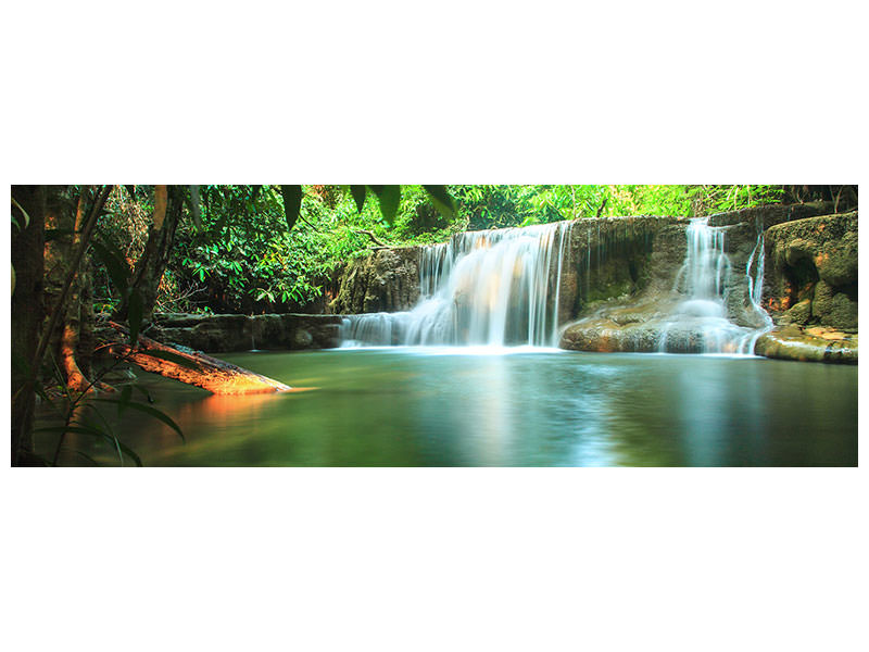 Panoramic Canvas Print Element Water