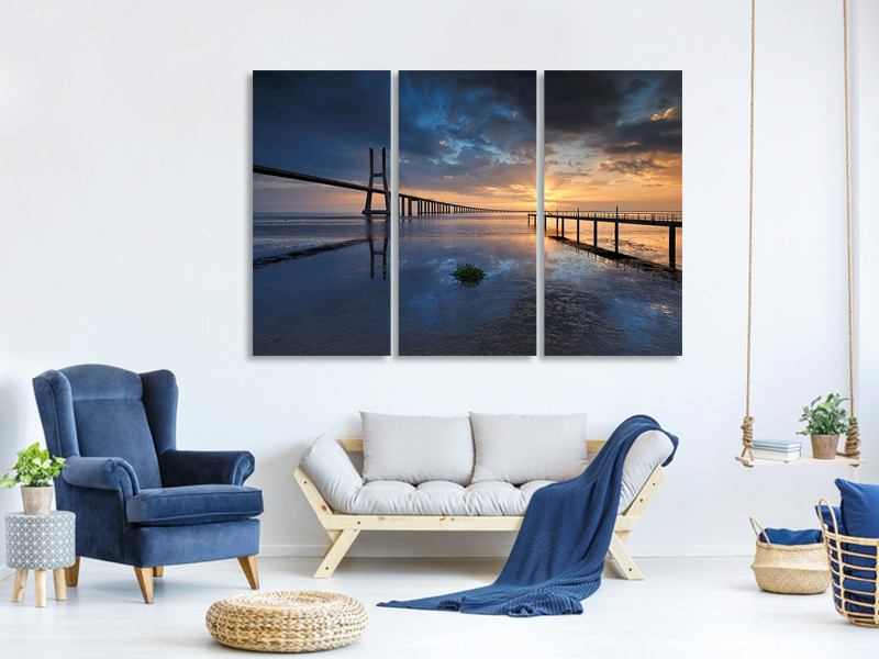 3 Piece Canvas Print Physical