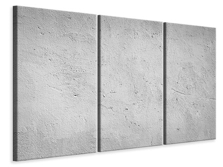 3 Piece Canvas Print Concrete