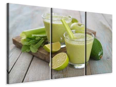 3 Piece Canvas Print Smoothie