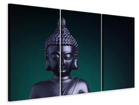 3 Piece Canvas Print The Wisdom Of The Buddha