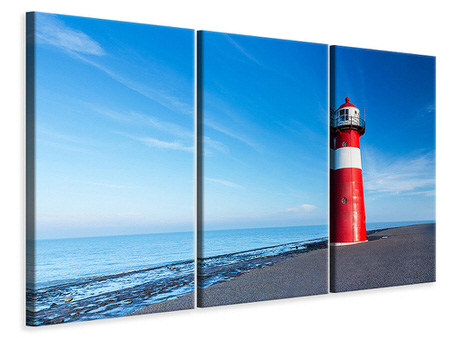 3 Piece Canvas Print The Lighthouse