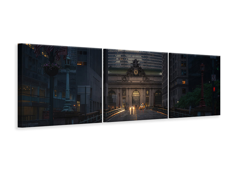 Panoramic 3 Piece Canvas Print Untitled 21