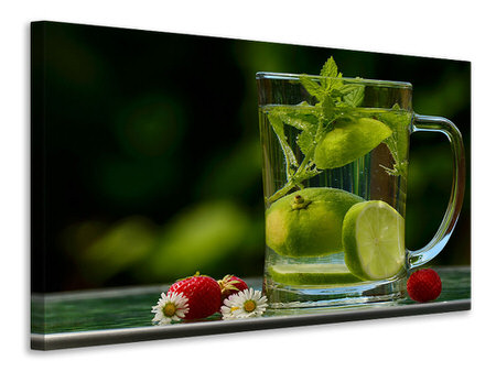 Canvas print Healthy water