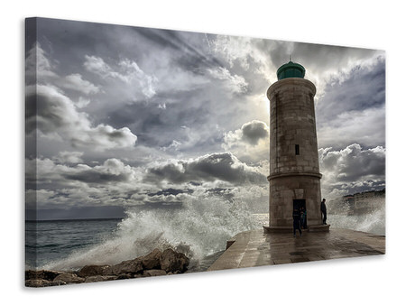 Canvas print The lighthouse in Marseille