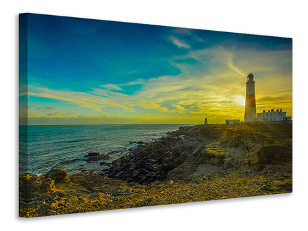 Canvas print Lighthouse in Portland