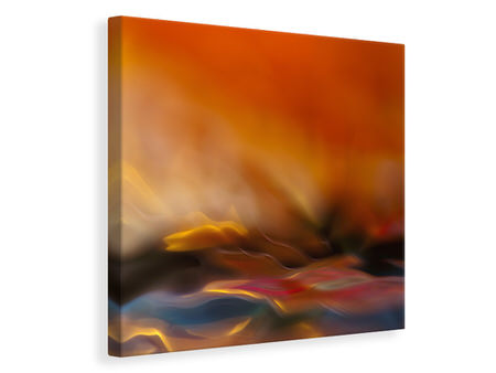 Canvas print Red Fantasy