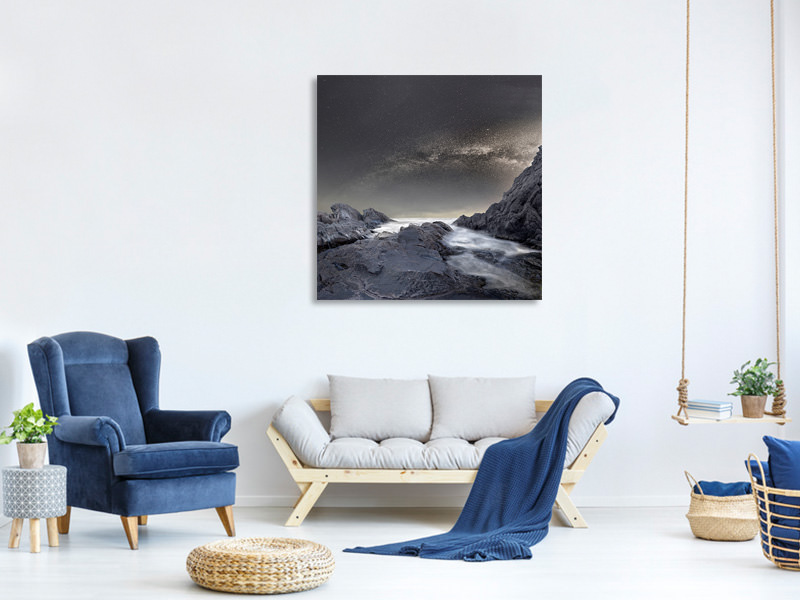 Canvas print Where Is The Moon
