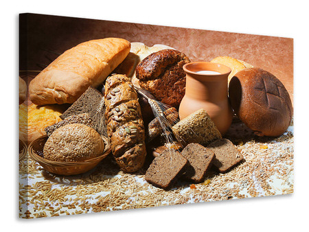 Canvas print Breakfast Breads