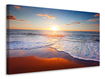 Canvas print Sunset On The Horizon