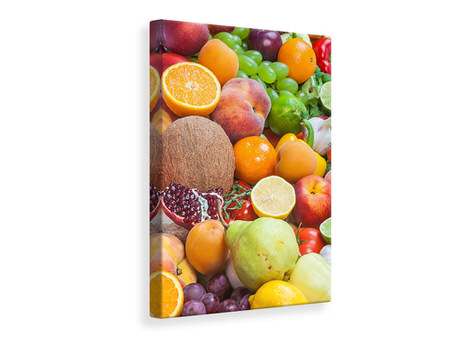 Canvas print Fresh Fruits