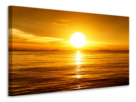 Canvas print Fantastic Sunset