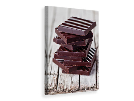 Canvas print Chocolate