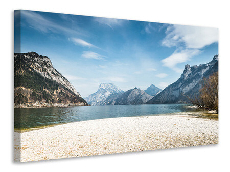Canvas print The Idyllic Mountain Lake