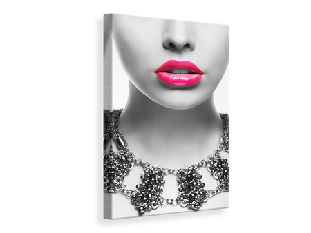 Canvas print Red Lips