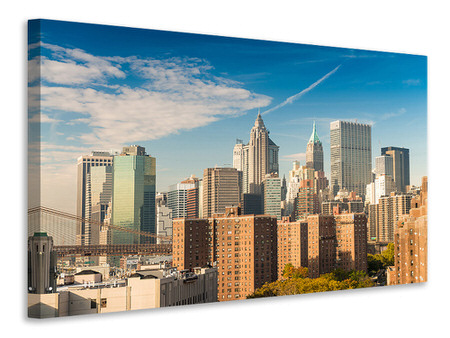 Stampa su tela Skyline di New York