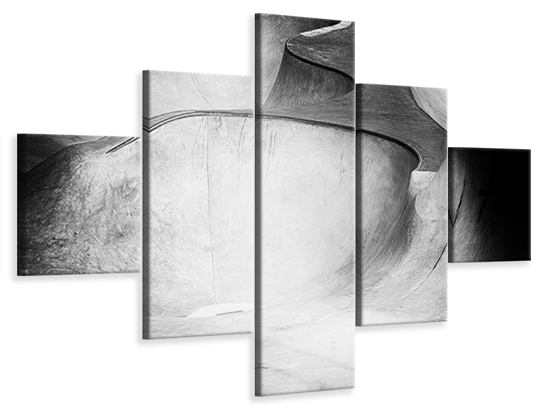 5 Piece Canvas Print Beyond Reality
