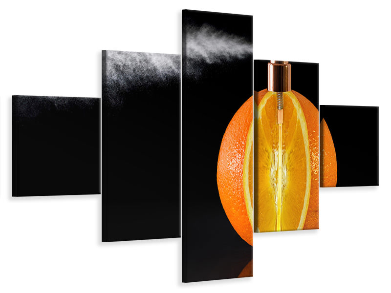 5 Piece Canvas Print Natural Perfum